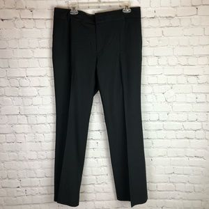 Banana Republic Martin Fit wool pants black 12